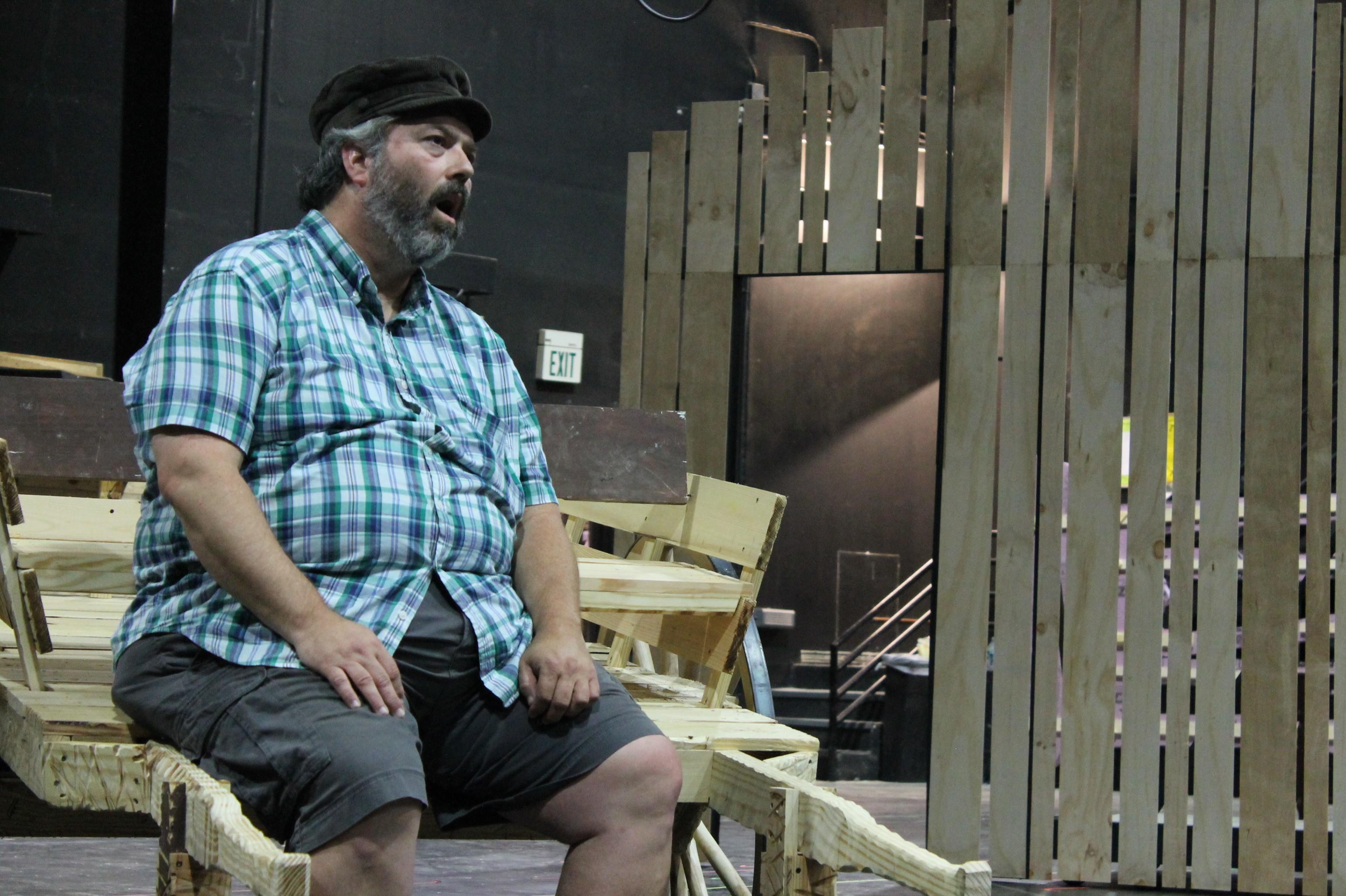 Charles Prosser as Tevye